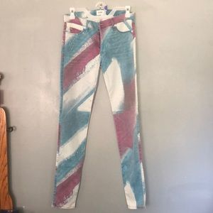 Hudson Jeans nico mid rise skinny Sz 27